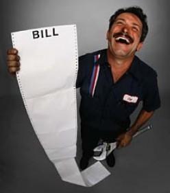 Laughing mechanic